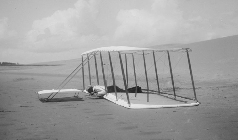 Wright Glider Manned